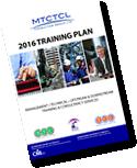 2016 Training Planner